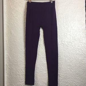 CATHERINE MALANDRINO Small Leggings Purple FLEECE